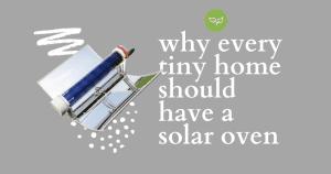 tiny home solar oven