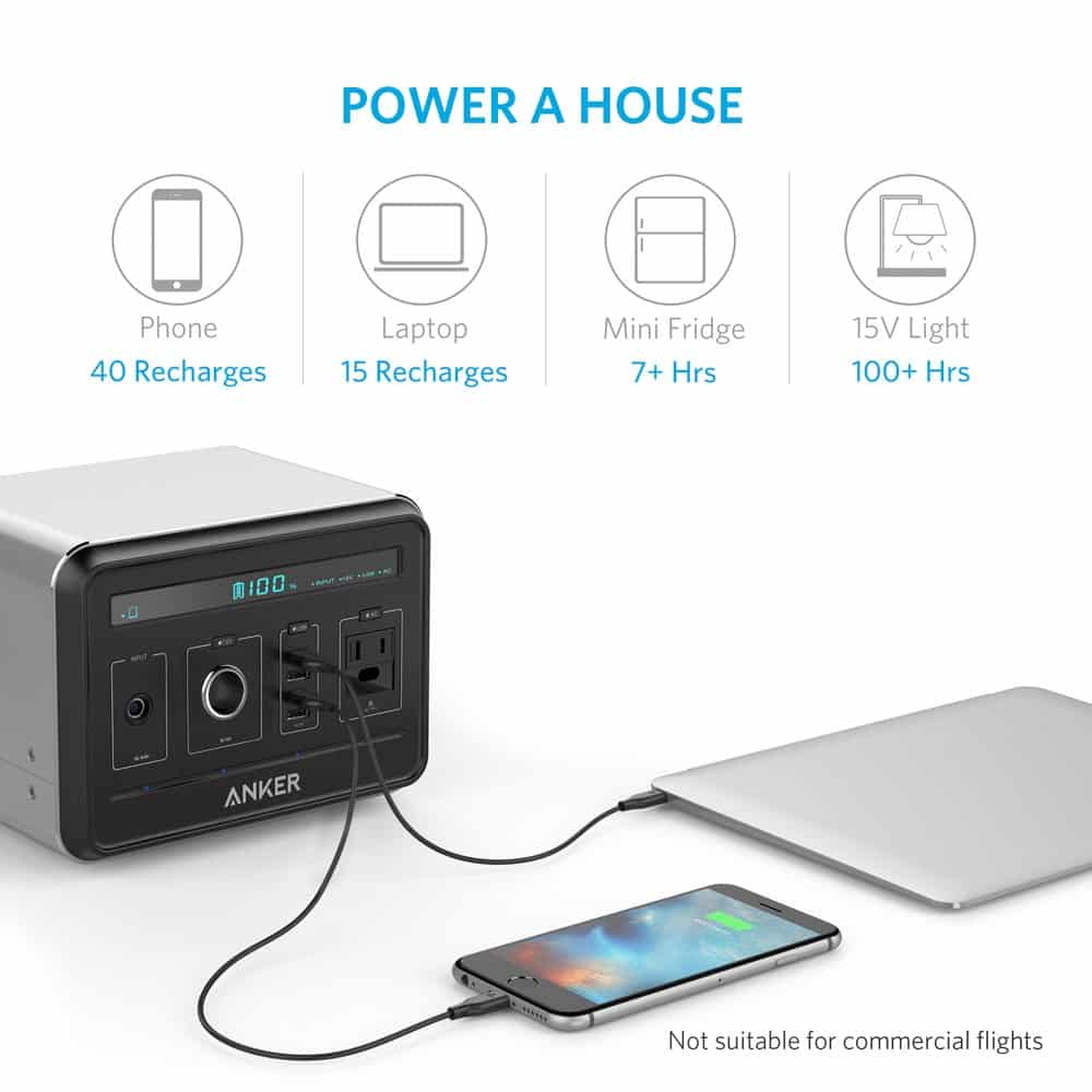 Benefits of the Anker solar battery