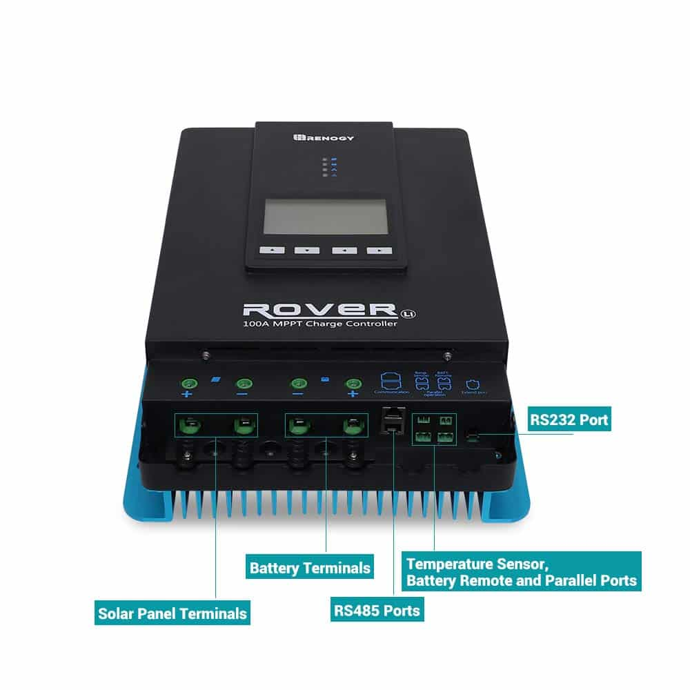 Renogy Rover 100 Charge Controller Review