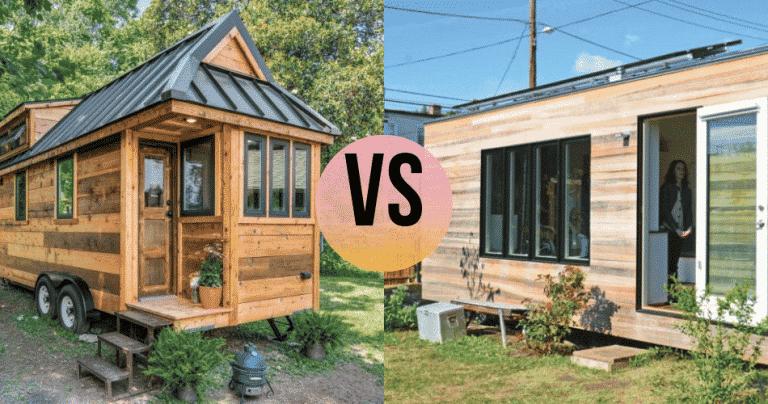 tiny house vs thow