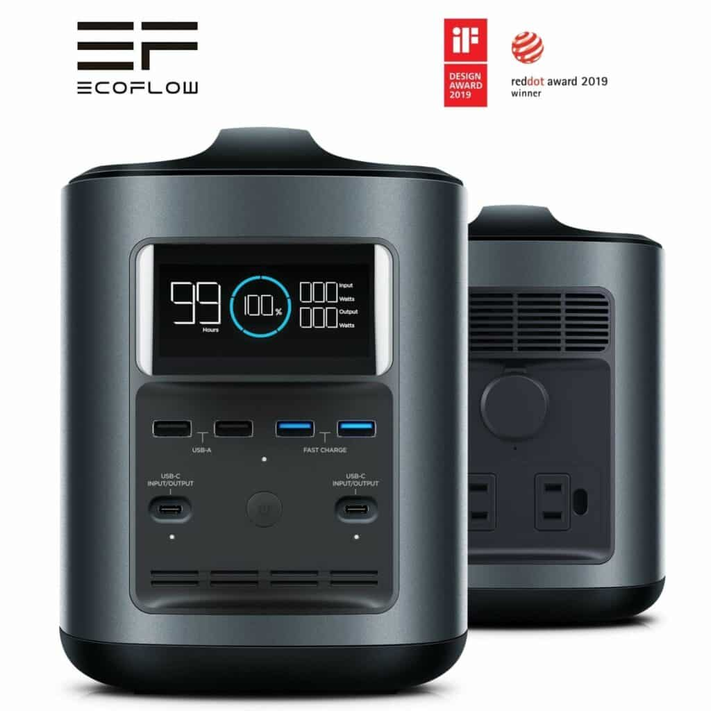 eco flow battery bank