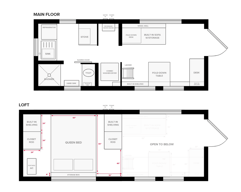 The Top 8 Tiny House Floor Plans 2021 Choosing Guide Tiny Living Life
