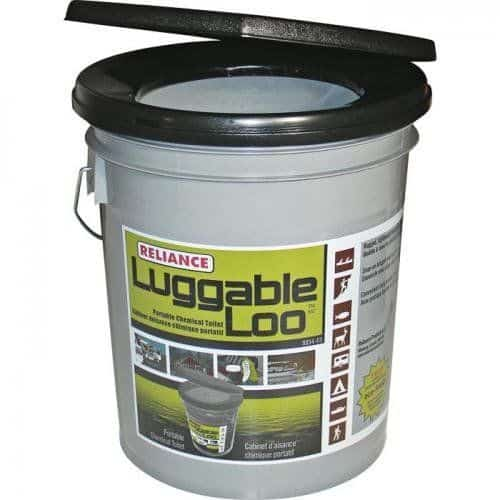 Affordable composting toilet luggable loo