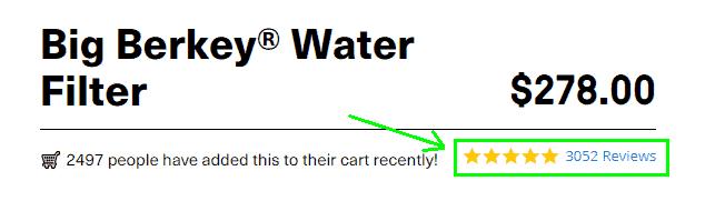 Big Berkey® Water Filter Reviews