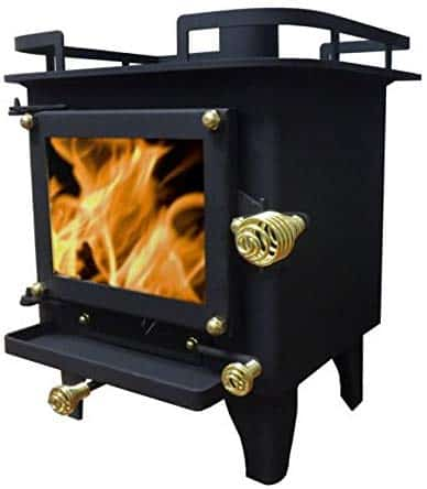 grizzly mini wood stove