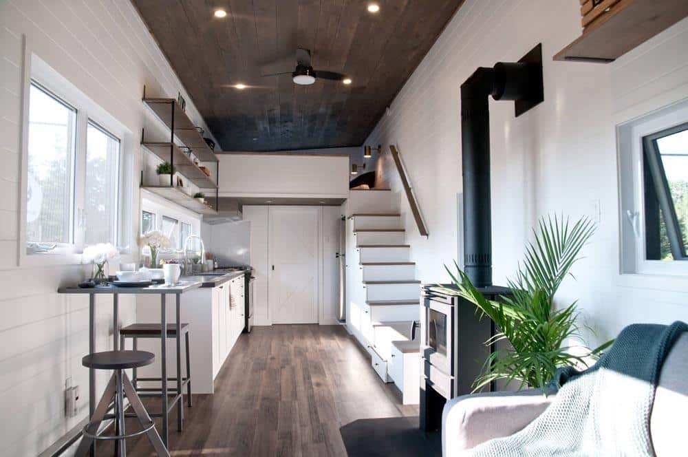 Cleverly designed tiny house