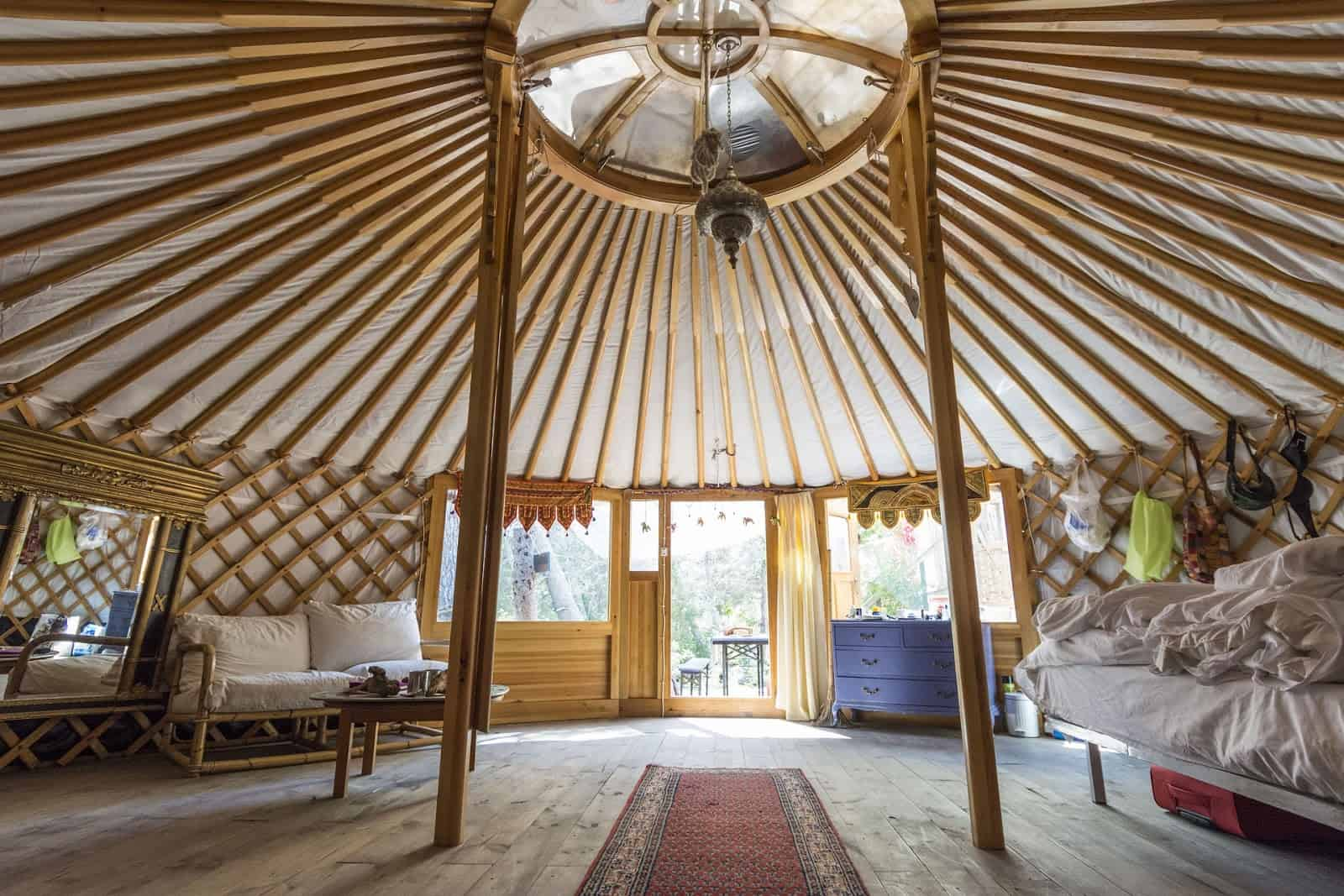 Most Beautiful Yurt