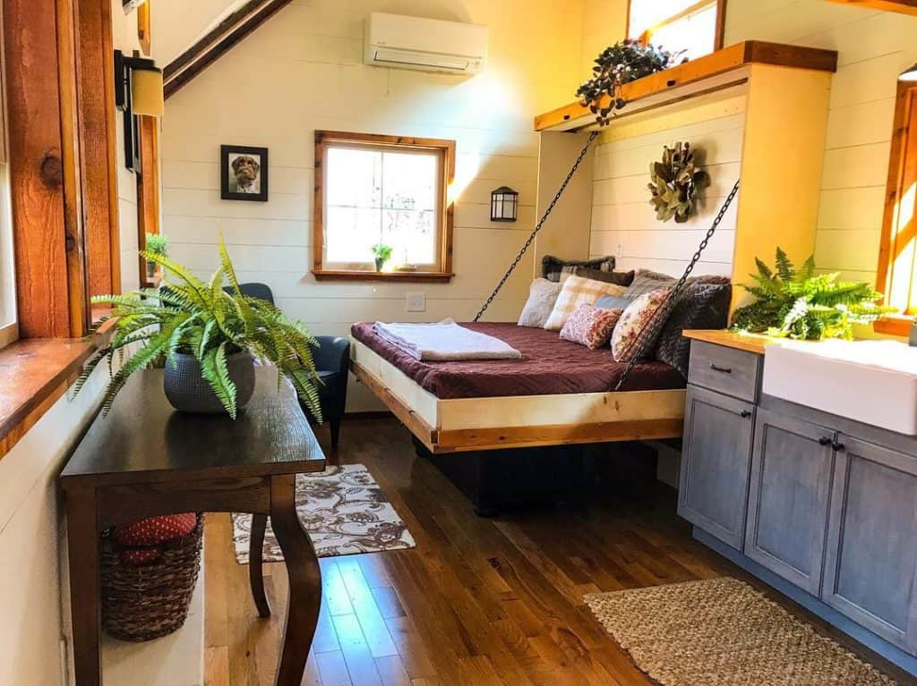 tiny house with murphy bed