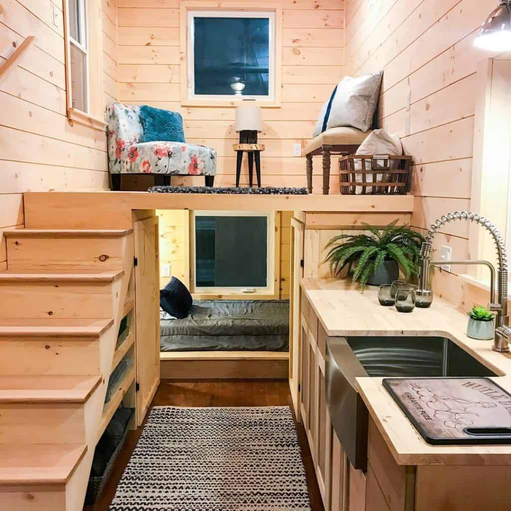 uniquely designed tiny home