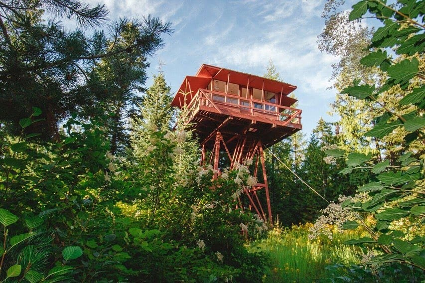 Northern Idaho Tiny House treehouse