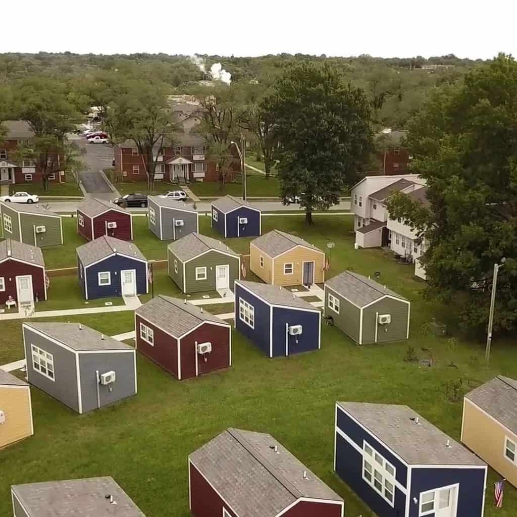 tiny house community for veterans