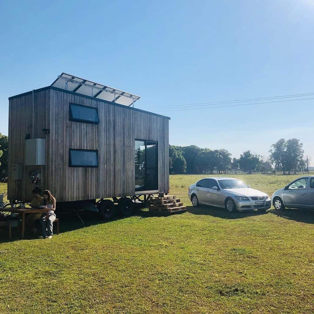 off grid and sustainable tiny house in australia