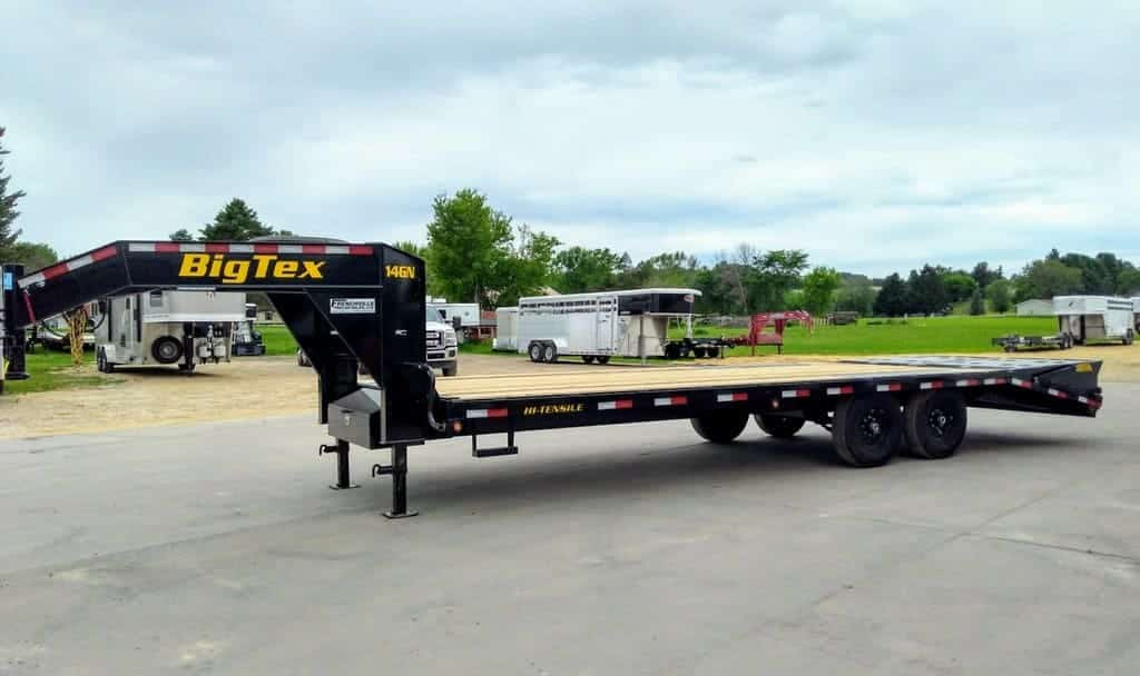 Big Tex Gooseneck Trailer