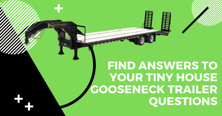 tiny house gooseneck trailer