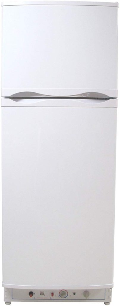 Superior propane refrigerator