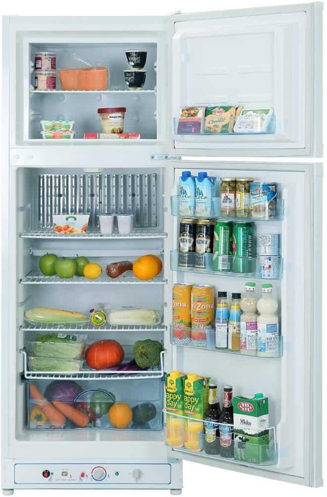 Smad Upright propane refrigerator