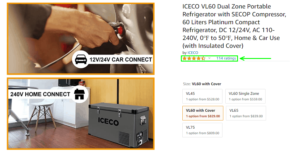 ICECO VL60 Amazon Review