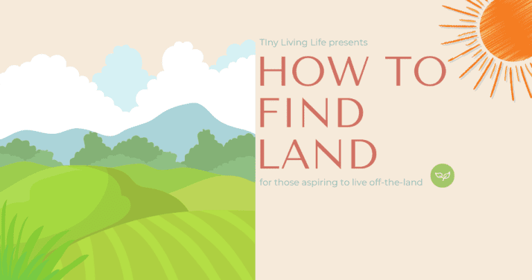 finding land for tiny home