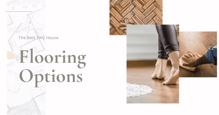 tiny house flooring options
