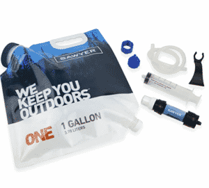 One-Gallon Gravity Water Filtration System