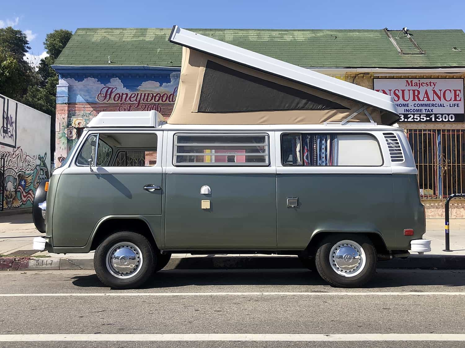 rent a campervan in los angeles