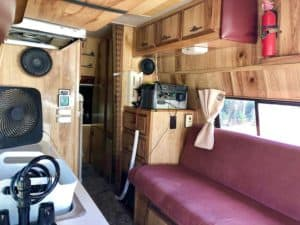 campervan rental option in los angeles