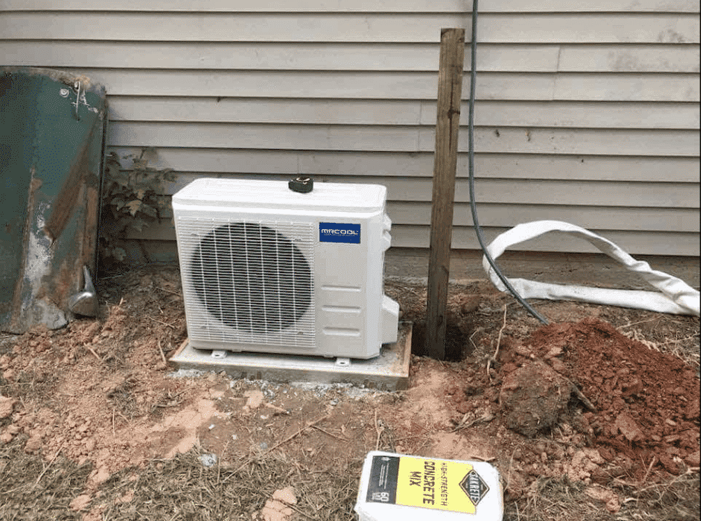set up solar off grid air conditioning
