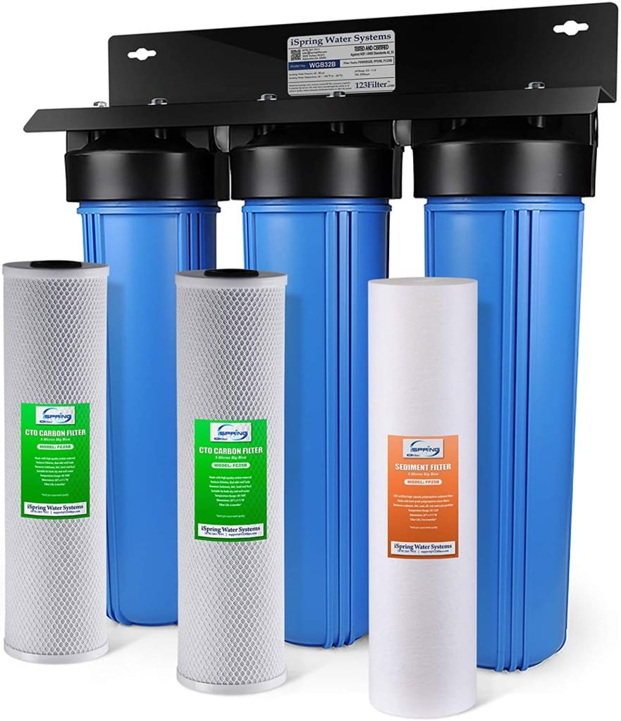 iSpring well water filter