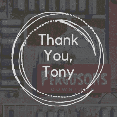 thank you tony hsieh