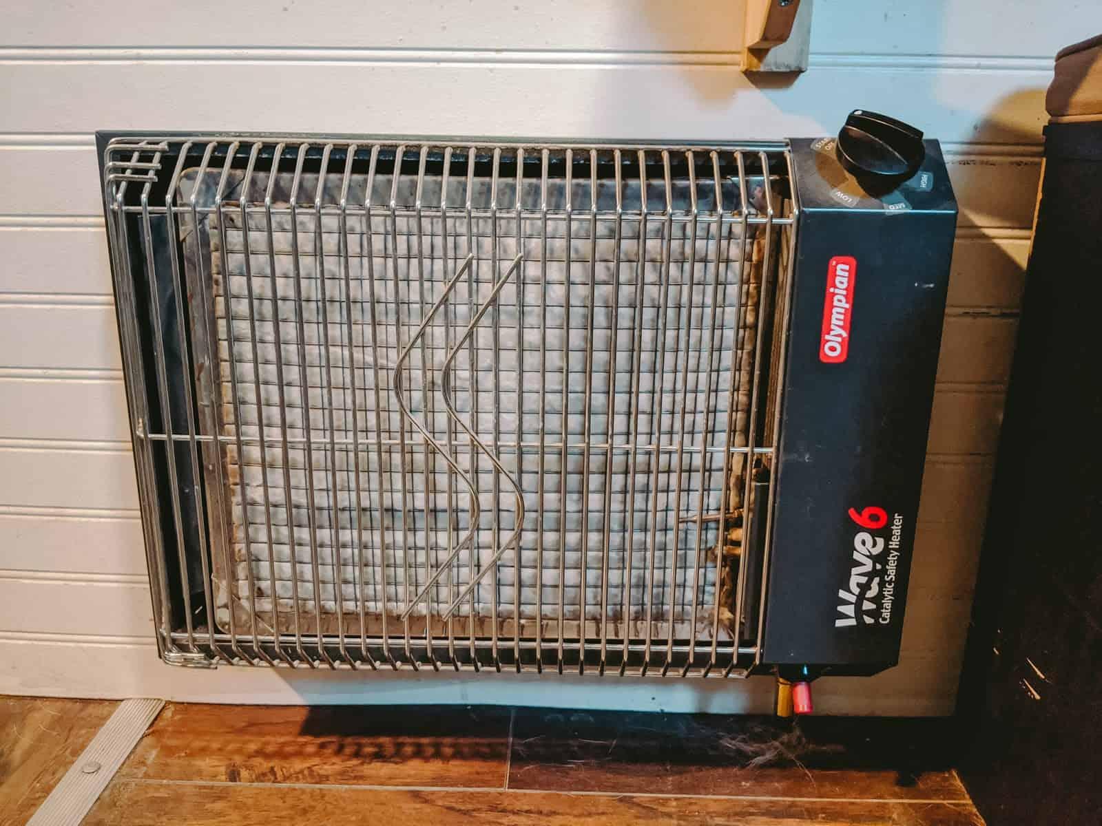 tiny home cargo tailer heater