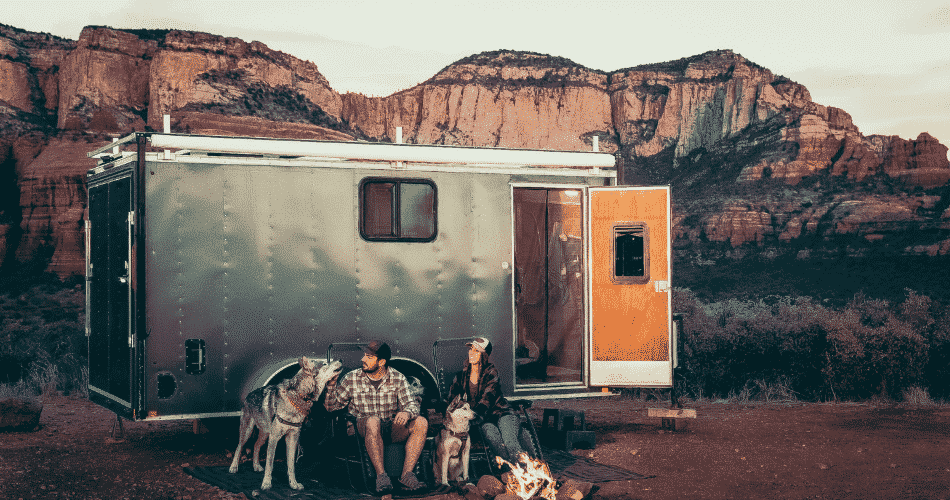 tiny home camping
