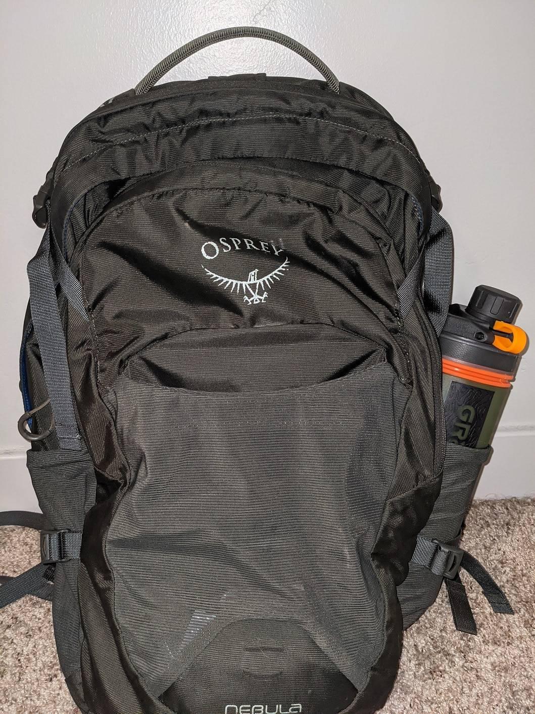 Grayl in Backpack