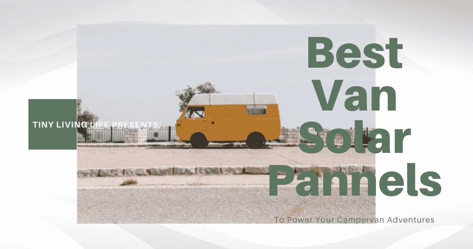 best van solar pannels
